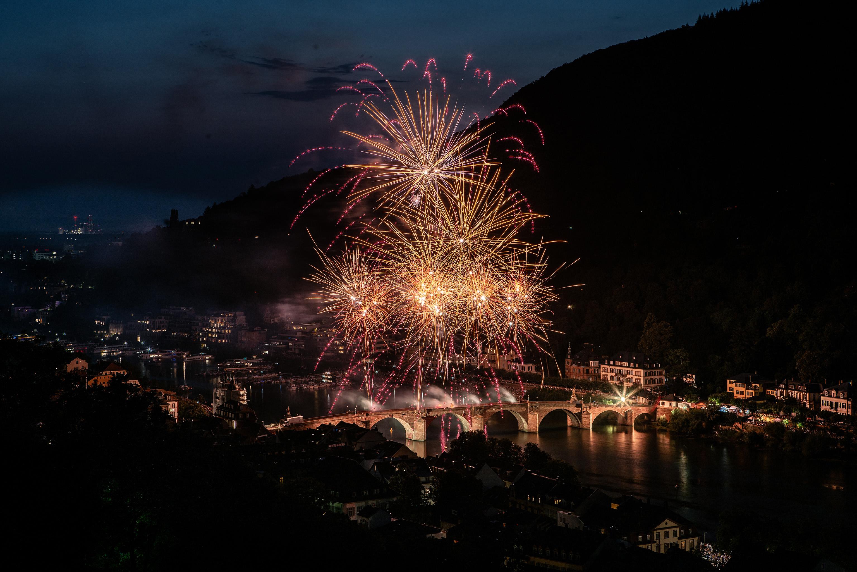 Heidelberg, Schlossbeleuchtung 2018